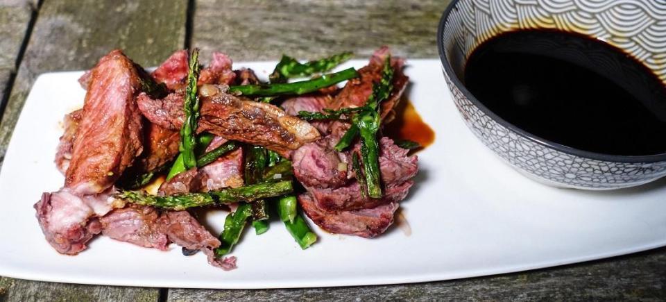 Teriyaki Ribeye Steak