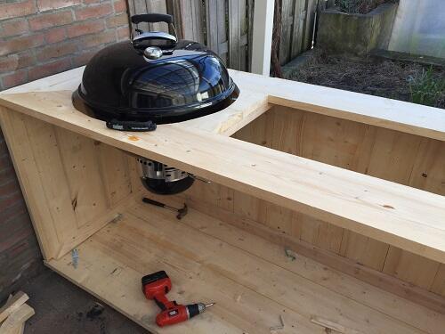 bbq meubel weber stap 4