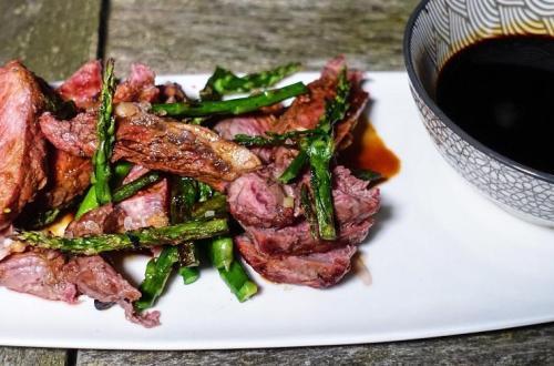 Teriyaki Rib eye Steak