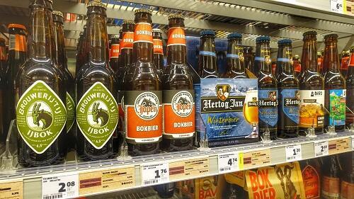 jumbo bier etiket