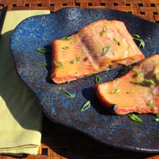 Cedar Planked Miso Salmon