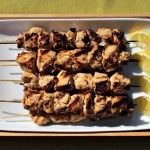 Lemon-Rosemary Marinated Chicken Skewers