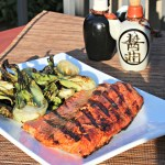 Asian Flavors: Grilled Salmon and Bok Choy
