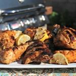 Tandoori Chicken with Grilled Lemons