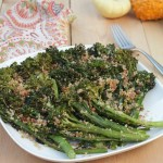 Grilled Broccolini with Parmesan and Bacon