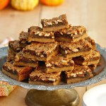 Pecan Chocolate Bars – Holiday Treats from the Grill!