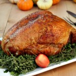 Thyme and Black Pepper Dry Brined Turkey Breast