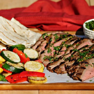 Flank Steak Monterrey with Orange Gremolata
