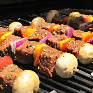 Top Sirloin Steak Kebabs