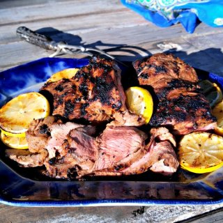 Tandoori-Spiced Leg of Lamb