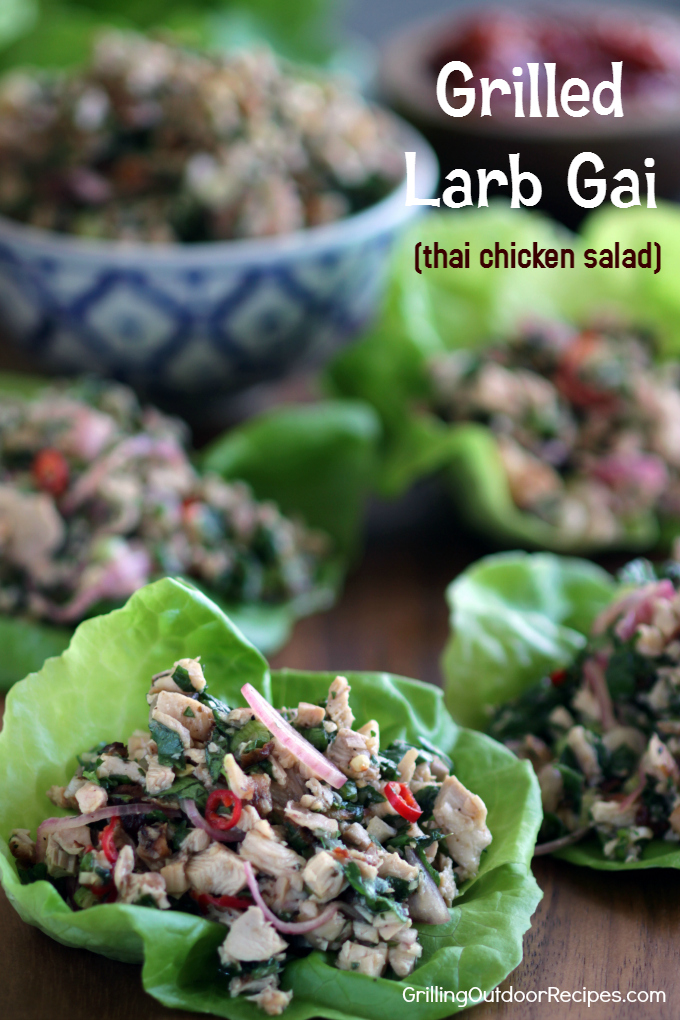 Chicken Larb v