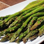 Lemon and Coriander Grilled Asparagus