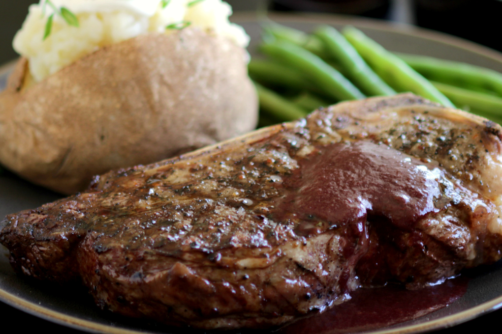 Happy steak