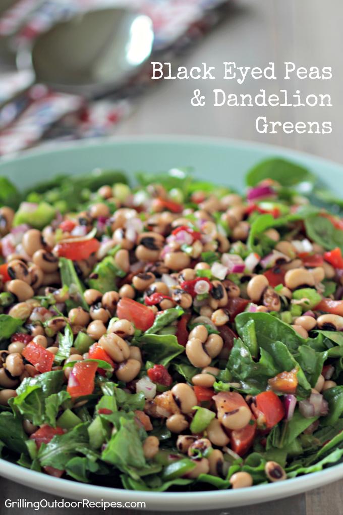 Black Eye Pea Salad v