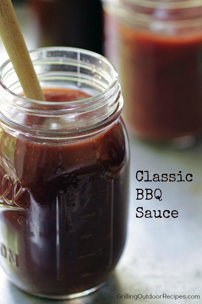 classic bbq sauce - v