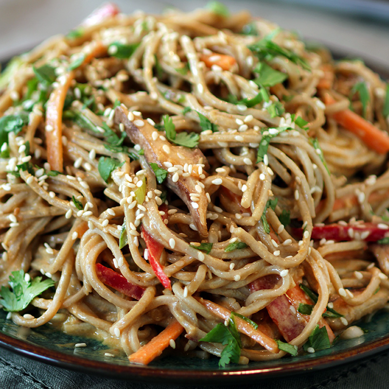Cold Sesame Noodles - sq