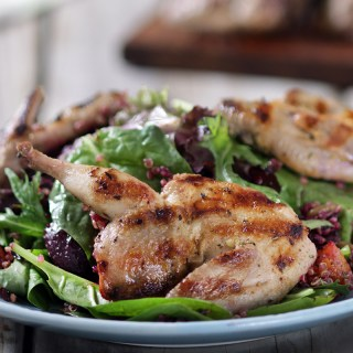 Game Meat 101: Lemon & Herb Grilled Quail