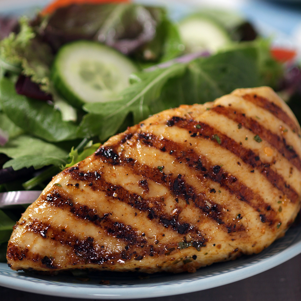 How To Grill Juicy Boneless, Skinless Chicken Breasts