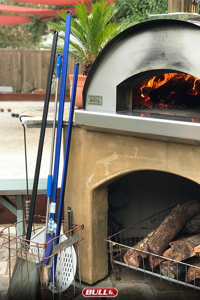 Caveman Steak, Cooking Steak in Pizza Oven, Ribeye Steak ...
