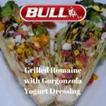 Grilled Romaine with Gorgonzola Yogurt Dressing