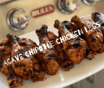 Agave Chipotle Chicken Legs
