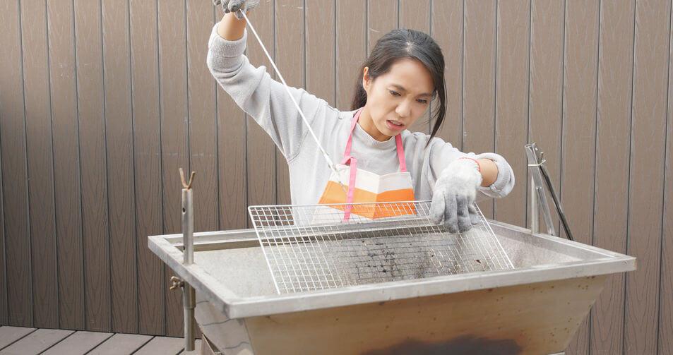 grill reinigen einwirkzeit