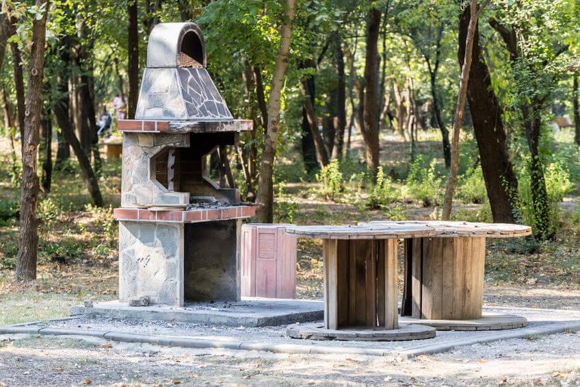 öffentlicher grillplatz