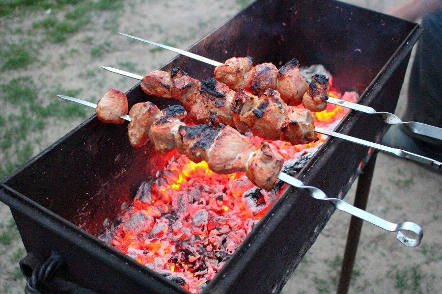 schaschlik grill ohne motor