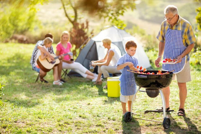 campinggrill test