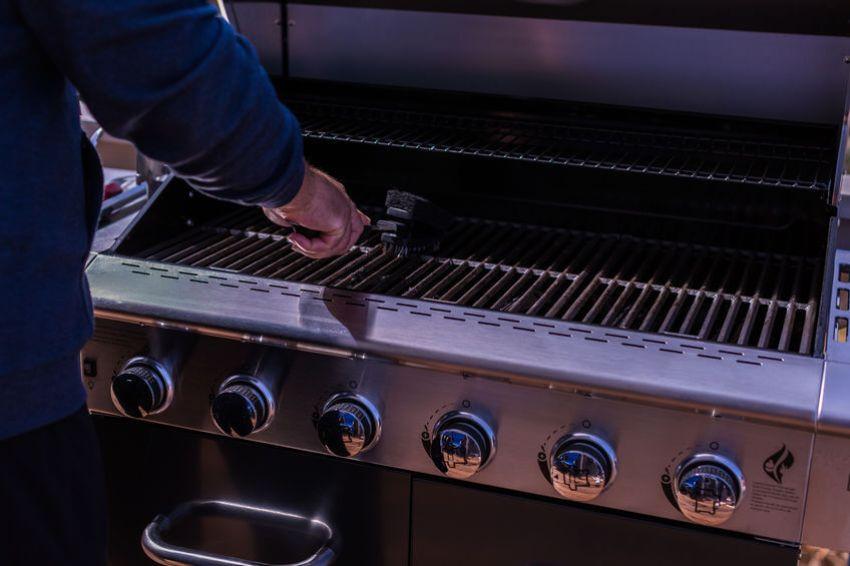 grillrost reinigen