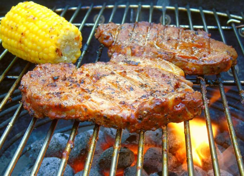 grillrost aus edelstahl