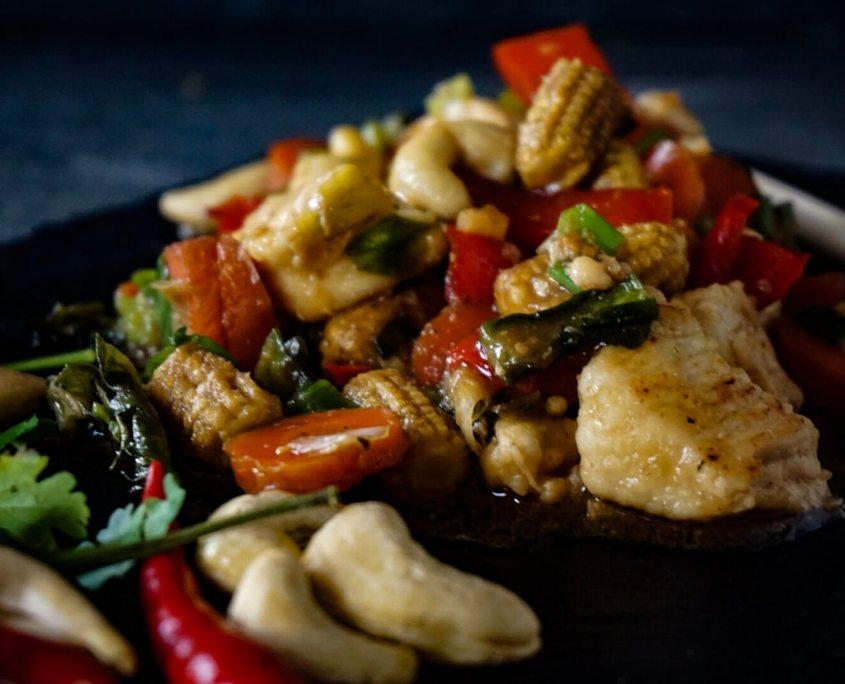Fried Chicken Cashewnut