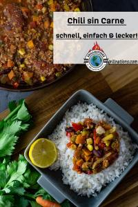 Chili sin Carne Rezept grillnations