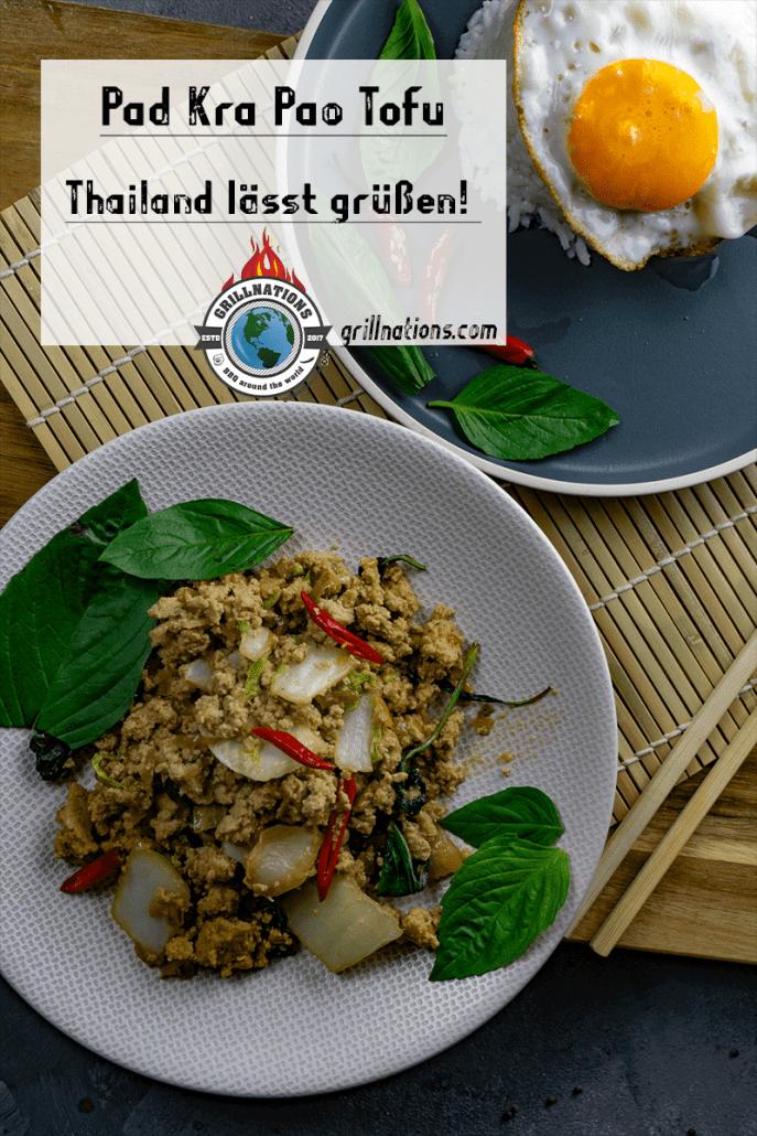 Pad Kra Pao Tofu Rezept grillnations