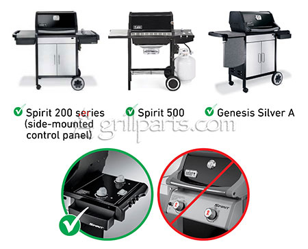 Weber Silver Grill Parts