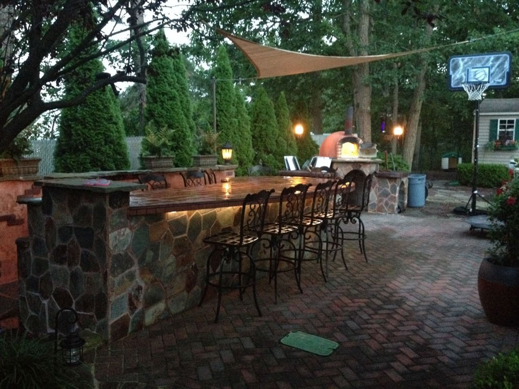 Outdoor Pizza Oven Pictures on Outdoor Patio With Pizza Oven  id=57031