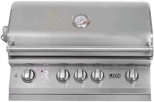Lion Premium Grills L75625 Propane Gas Grill with Rotisserie Burner