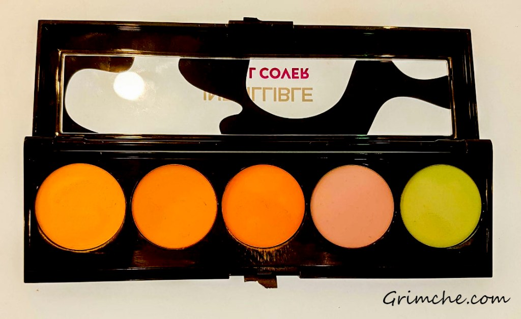 Нови продукти от L'Oreal Infallible Total Cover Concealing Palette