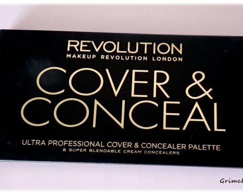 Палитра с коректори Makeup Revolution Cover and Conceal Palette