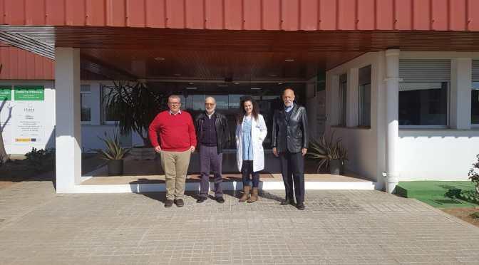 Visita al Centro Tecnológico Nacional Agroalimentario Extremadura (CTAEX)