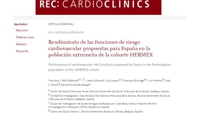 Premio de la Sociedad Española de Cardiología