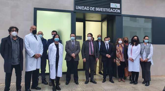 Visita de las autoridades a la Nueva Unidad de Investigación