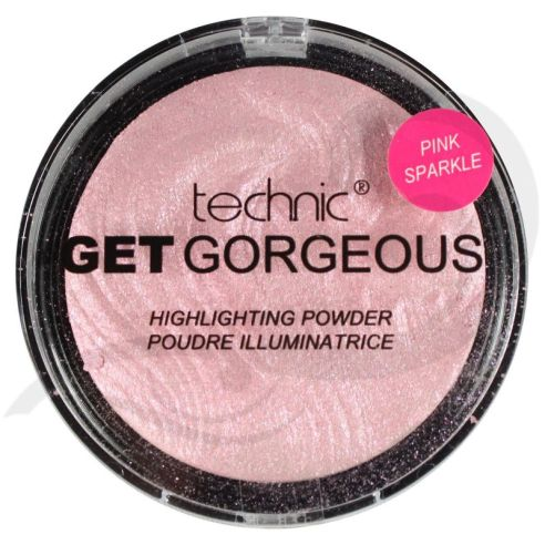 technic-get-gorgeous-pink-sparkle-highlighting-powder