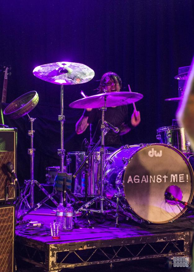Against Me! at The Roxy Theater Photo by Tamea Agle