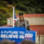 Danny Glover at Bernie Sanders Rally