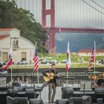 Dave Matthews at Bernie Sanders Rally in San Francisco, June 6, 2016