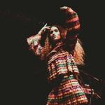 Empress Of at the Greek Theatre shot by Danielle Gornbein