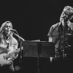 Julien Baker and Matt Berninger of The National at the Wiltern shot by Danielle Gornbein