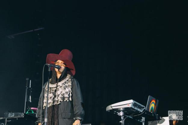 Erykah Badu at Camp Flog Gnaw shot by Michael Espeleta