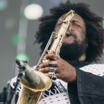 Kamasi Washington at Camp Flog Gnaw shot by Michael Espeleta